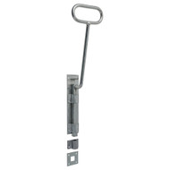 Bow Handle Door Bolt With Square Shoot (Each)