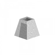 Pyramid Receiver Socket Galvanised (Each)