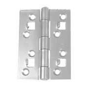 100mm Strong High Security Butt Hinges Zinc (Per Pair)