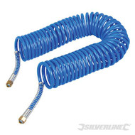 Coiled Air Hose 10m