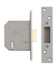 5 Lever Mortice DeadLock 63mm