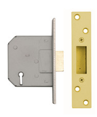 5 Lever Mortice DeadLock 76mm