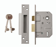 5 Lever Mortice Sashlock 76mm