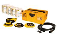 Mirka DEROS 5650CV Sander Solution Kit with Abranet ACE