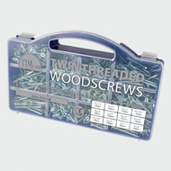 Timco 1140pc Twin Woodscrews In Mixed Tray