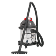 Vacuum Cleaner Wet & Dry 20ltr 1250W Stainless Drum