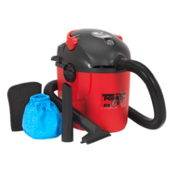 Vacuum Cleaner Wet & Dry 10ltr 1000W/230V