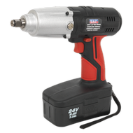 "Cordless Impact Wrench 24V 2Ah Ni-MH 1/2""Sq Drive 441Nm"
