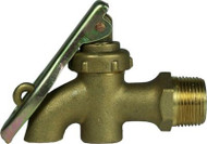 3/4 BSP Drum Tap - Solid Brass