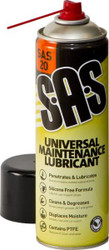 S.A.S Universal Maintenance Lubricant 500ml (Box Of 12 Cans)