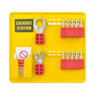 10 Padlock Lockout Station - Premier