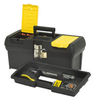 Stanley Plastic Toolbox  With Metal Latches 41cm (16in)