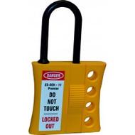 Premier non-conductive lockout hasp - 4 holes (6mm thread)