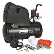 SIP Direct-Drive 24L Air Compressor (With 7pc Air Tool Kit)