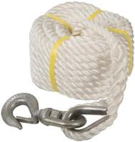20 Metre Gin Wheel Rope with Hook