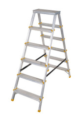 EN131 150kg Aluminium Double Sided Steps