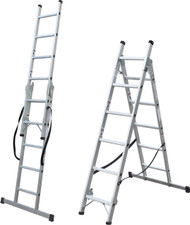 EN131 150kg Multi-Functional 3 Way Step/Ladder