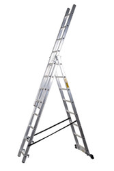 EN131 150kg 3 Section Aluminium Combi Ladder