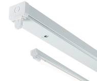 230V T8 Single LED-Ready Batten Fitting Only