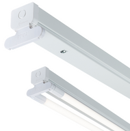230V T8 Twin LED-Ready Batten Fitting