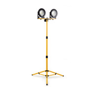 Defender DF1200 20w LED Twin Head Work Light with Telescopic Tripod