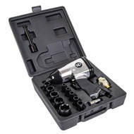 "SIP 1/2"" Impact Air Wrench Kit (17 Pieces)"