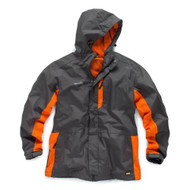 Scruffs Graphite and Orange Worker Jacket