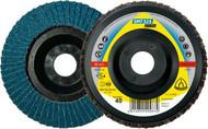 Klingspor 115mm x 80 grit Flap Discs
