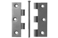 No.1840 Light Butt Hinges with Loose Pins Zinc (Per Pair)