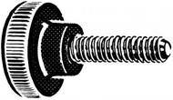 Knurled Knob With Zinc Threaded Rod (Per 10)