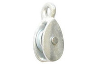 Single Awning Cast Pulley - Galv Cast Wheel