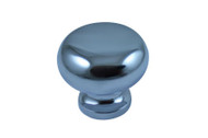 30mm Cupboard Door Round Knobs - Chrome