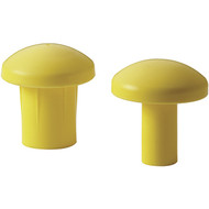 Yellow Rebar Protection Caps (Per 10)