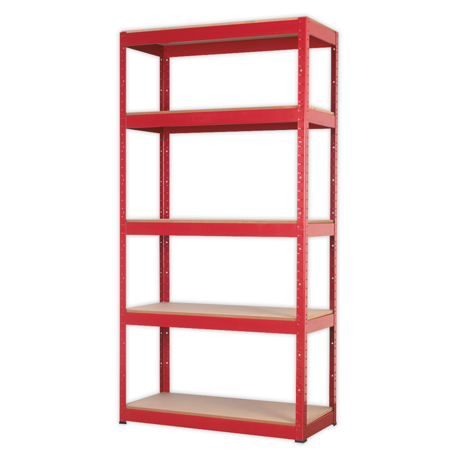 Racking Unit with 5 Shelves - 910 x 410 x 1805mm - Marshall
