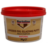 Bartoline 1kg Tub Multi Purpose Linseed Oil Putty