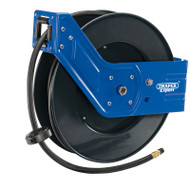 Draper Wall Mounted Retractable Air Hose Reel (15m)