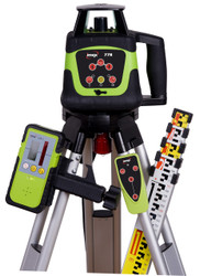Imex i77R Rotating Laser Level Kit With LRX6 Receiver