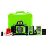 Imex i88R Red Beam Rotating Laser Level With LRX6 Receiver