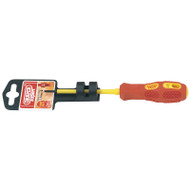 Draper 2.5 x 75mm Fully Insulated Slotted Screwdriver