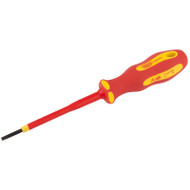 Draper Ergo Plus VDE 2.5 x 75mm Slotted Screwdriver