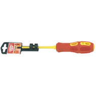 Draper 4 x 100mm Fully Insulated VDE Slotted Screwdriver