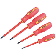 Draper Fully Insulated 4pc Screwdriver Set