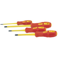 Draper VDE Fully Insulated 4pc Screwdriver Set