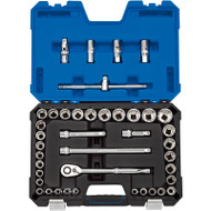 "Draper 1/2"" Sq Drive Metric & Imperial Socket Set (41 Piece)"