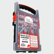 TIMco Nuts, Bolts, Washers Set 500pcs