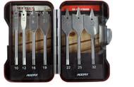 Addax 7pc Flat Wood Bit Set