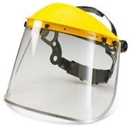 "Metal Edge Clear 8"" Visor Only"