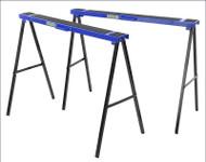 Faithfull Steel Foldable Trestles (Twin Pack)