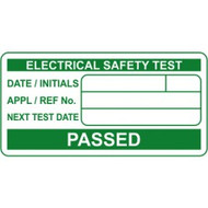 PAT Electrical Safety Test Labels (50 x 25mm Roll of 500)