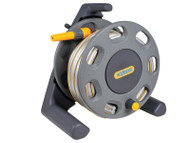 Hoselock Freestanding Compact Hose Reel + 25m Hose & Fittings